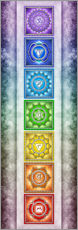 The Seven Chakras - Series II -Artwork II