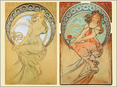 The Four Arts, collage I