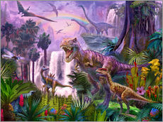 Dinos in the jungle