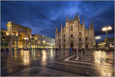 Cathedral Square and Cathedral of Milan, Milano, Italy