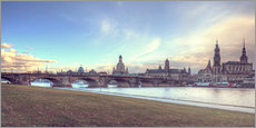 Dresden, as viewed by Canaletto earlier
