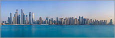 Dubai Marina Skyline - United Arab Emirates
