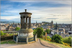 Edinburgh view from Calton Hill