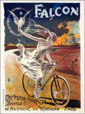 Bicycles branded Falcon