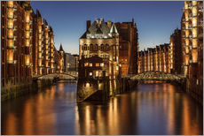 Water Castle - Warehouse District - Hamburg - Germany