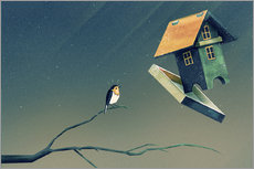 Flying Bird   House