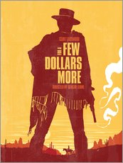 For a few dollars more western movie inspired art print
