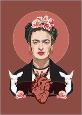 Frida Kahlo (Dark)