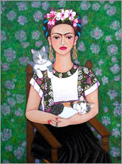 Frida cat lover