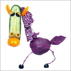 Vegetable animals - horse