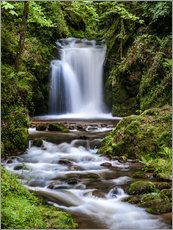 Waterfall of Geroldsau in the Black Forest