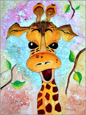 Giraffe Gisela animals series for children