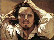Selfportrait Gustave Courbet, the Desperate