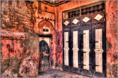 HDR   WOODEN DOORS   MARRAKECH   MOROCCO