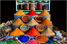 HDR   ORIENTAL SPICES   MARRAKECH   MOROCCO 3
