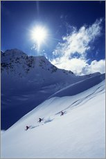 Heliskiing in Mount Cook National Park