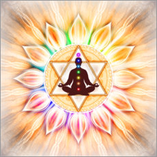 In Meditation With Chakras - Artwork II
