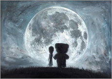 In my dreams you always bring me to the Moon