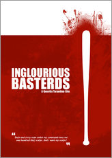 Inglourious Basterds - Minimal Movie Film Fanart - Tarantino Alternative