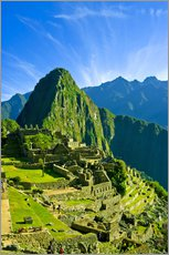 Inca city of Machu Picchu