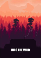 Into the Wild - Minimal Film Fanart alternative