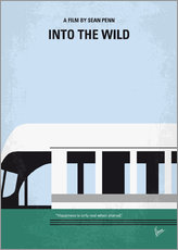 No677 My Into the Wild minimal movie poster