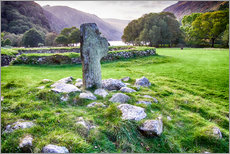 Ireland Glendalough Abbey