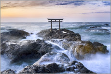 Japanese Torii in the sea, Japan