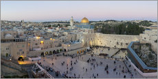 Jerusalem with Wailing Wall