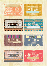 Vintage Tapes Collage