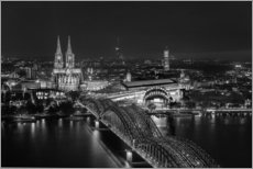 Cologne black and white