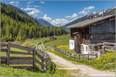 Way of the Cross in South Tyrol (Italy)