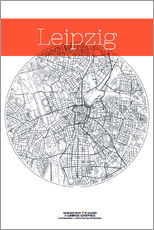 Leipzig map city map