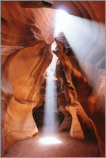 Light beams at Upper Antelope Canyon, Arizona, USA