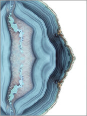 Light blue agate