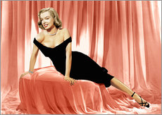 Marilyn Monroe in a cocktail dress