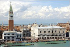 St. Mark's Square on the Grand Canal