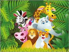 My jungle animals