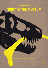 My Night at the Museum minimal movie poster