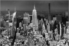 Empire State Building, New York City (monochrome)