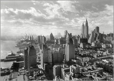 New York, Manhattan Skyline 1930