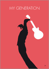 No002 MY THE WHO Minimal Music poster