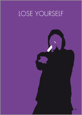 No041 MY EMINEM Minimal Music poster