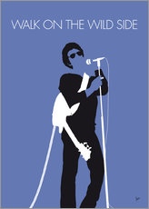 No068 MY LOU REED Minimal Music poster