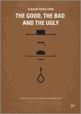 No090 My The Good The Bad The Ugly minimal movie poster
