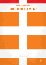No112 My Fifth Element minimal movie poster