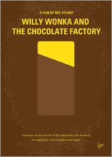 No149 My willy wonka and the chocolate factory minimal movie poster