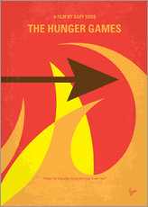 No175 1 My Hunger Games minimal movie poster