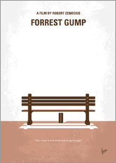 No193 My Forrest Gump minimal movie poster