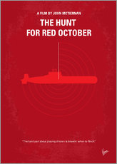No198 My The Hunt for Red October minimal movie poster